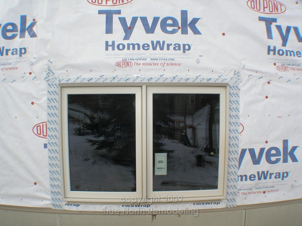 Tyvek Installation True North Remodeling